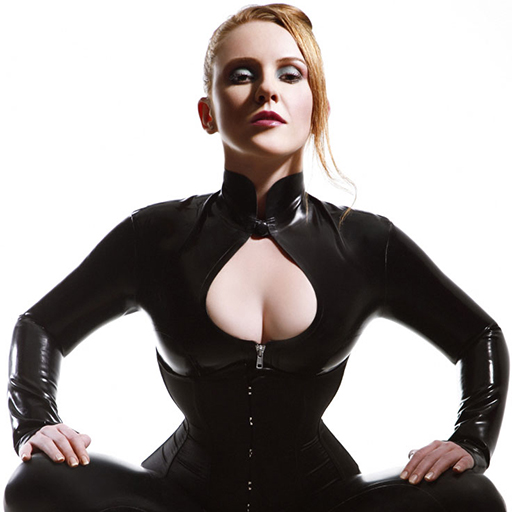 ball stretching bdsm lust in latex